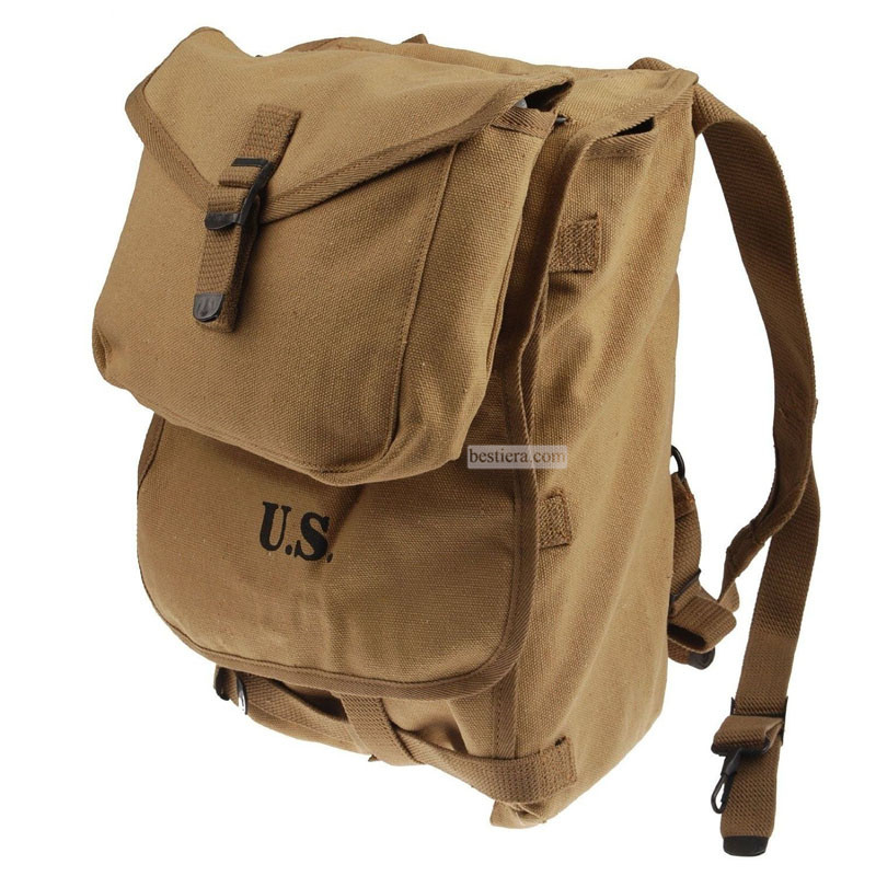WW2 WWII US Musette Army M1928 Haversack Backpack