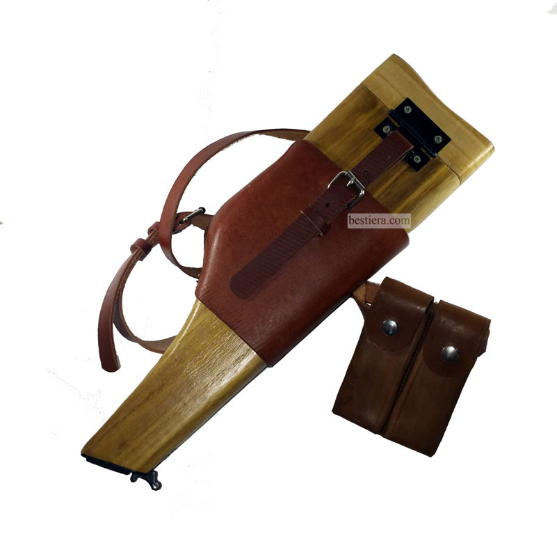 Repro C96 WW2 German Wood Holster Stock Mauser