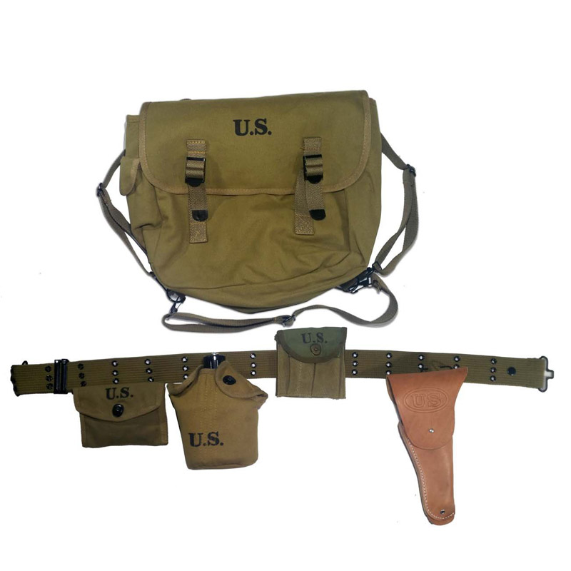 WW2 US Commander Officer Equipment Set M36 Backpack