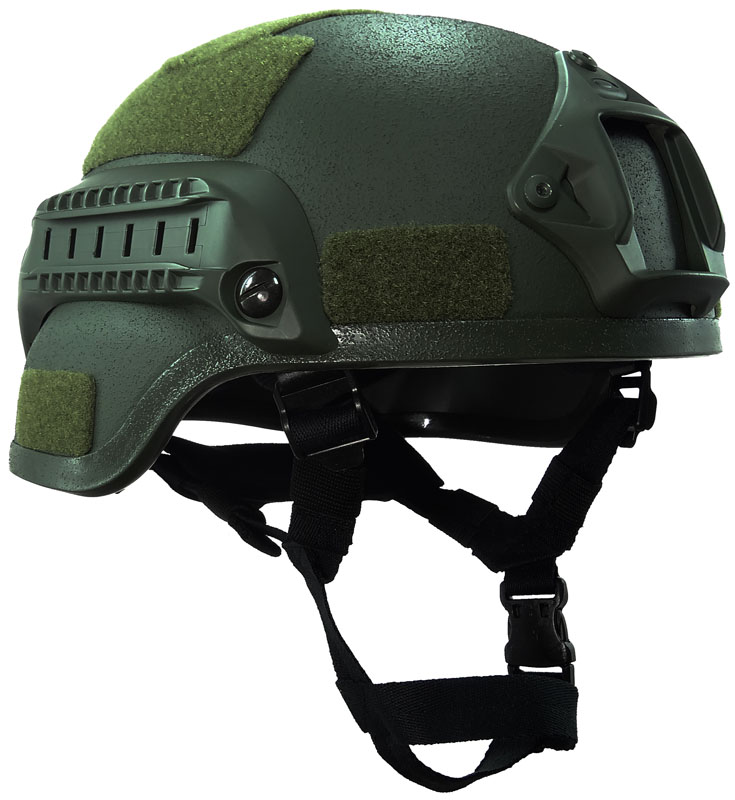 Military US Field Green Advanced MICH2000 Airsoft Helmet