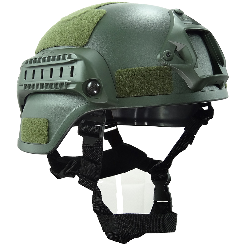 Green&Sand Simple Style MICH2000 Helmet for Airsoft Paintball