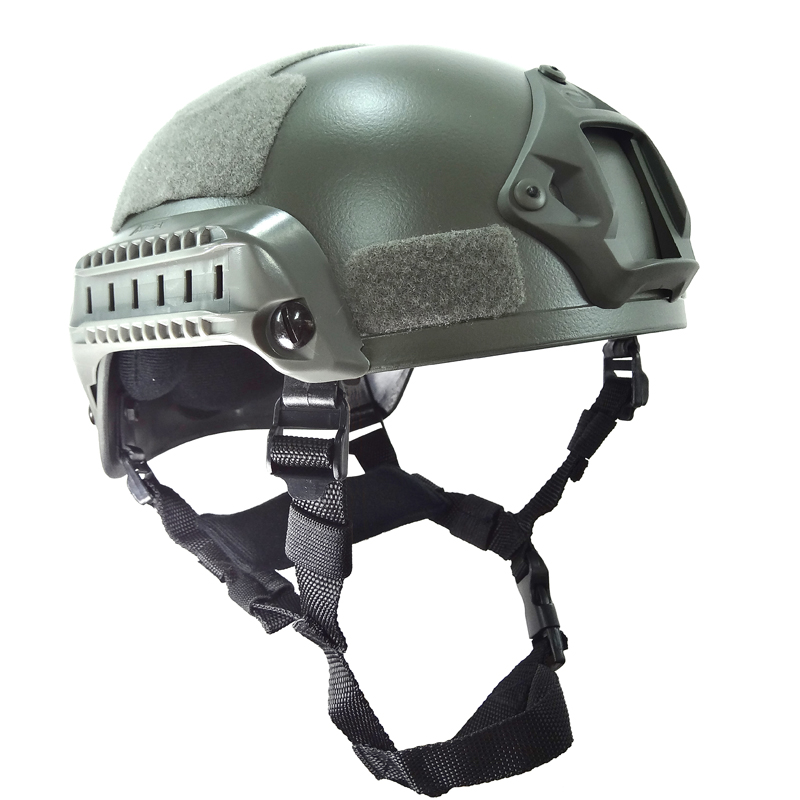 MICH2001 Grey Helmet Headware Protector Tactical Paintball Gear