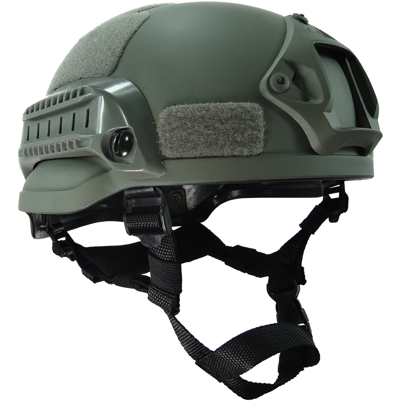 Outdoor Grey MICH2002 Helmet Tactical Combat Riding Hunting