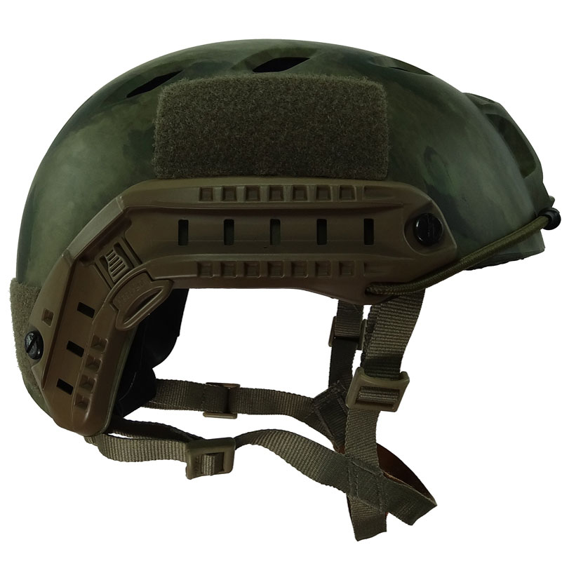 Camouflage FAST Helmet BJ Type Airsoft Duty Military Strick
