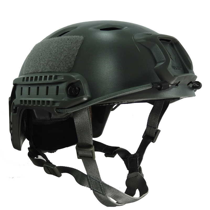 Field Green FAST Helmet BJ Type Airsoft Duty Strick Advanced