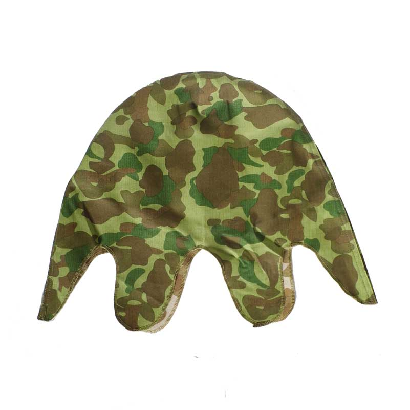WW2 USMC US PACIFIC REVERSIBLE CAMOUFLAGE M1 HELMET COVER