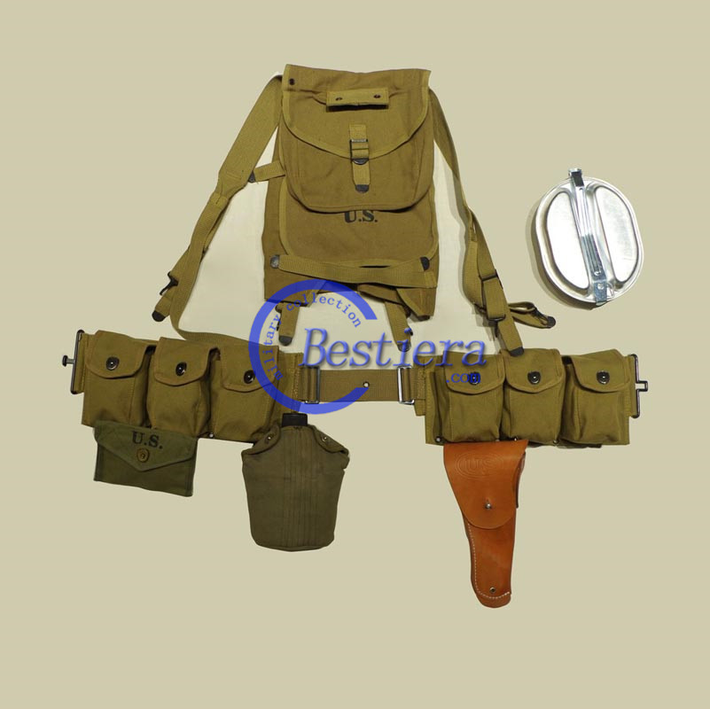 WW2 WWII US M36 ARMY FULL EQUIPMENT COMBAT