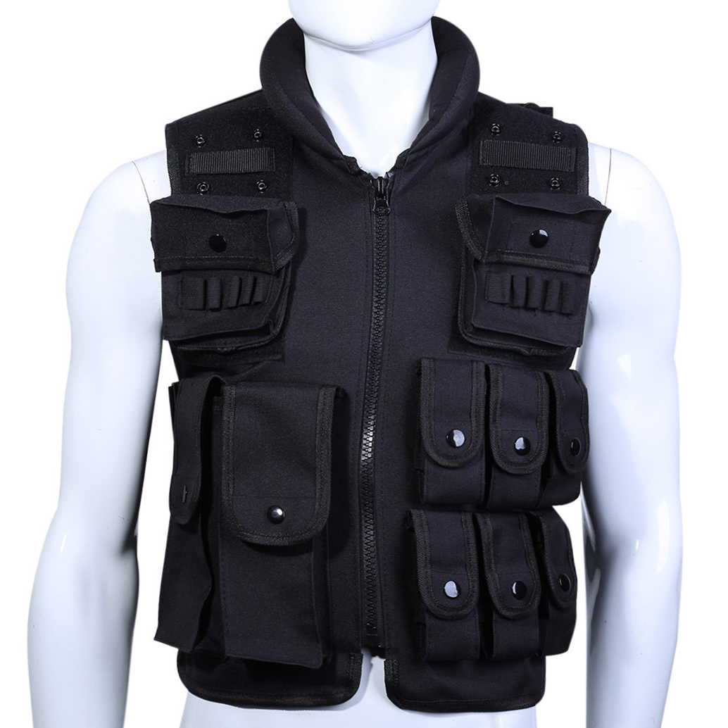Adult Size Airsoft Combat Tactical Vest